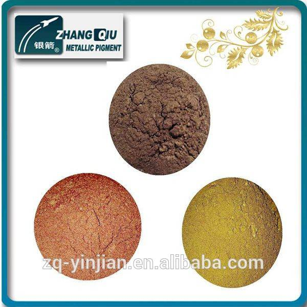 Chemical metallic bronze powder