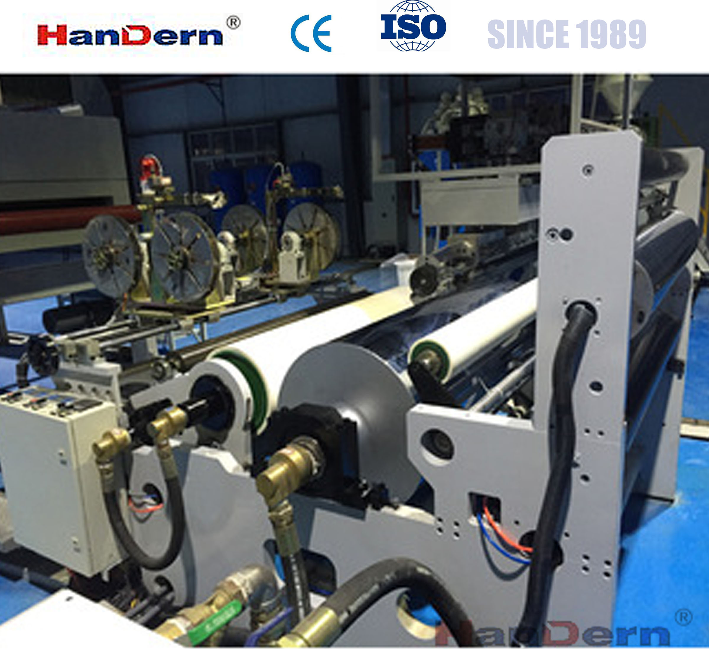 AB two layers /ABA three layers co-extrusion corrugated sheet making machine