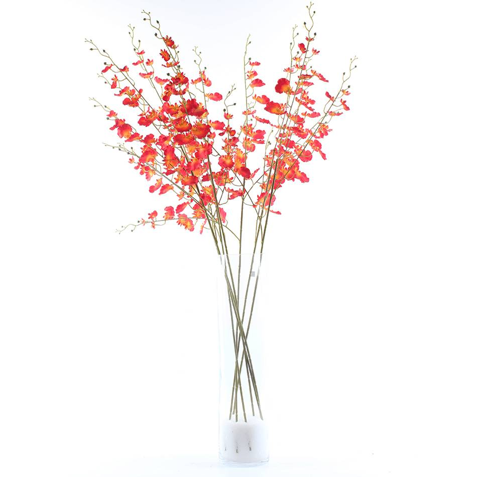 Wholesale China artificial silk 3 branches flower