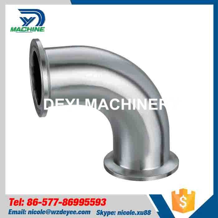 Stainless Steel 90 Degree Tri Clamp Elbow
