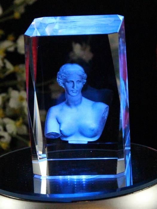 wedding souvenirs 3d laser crystal