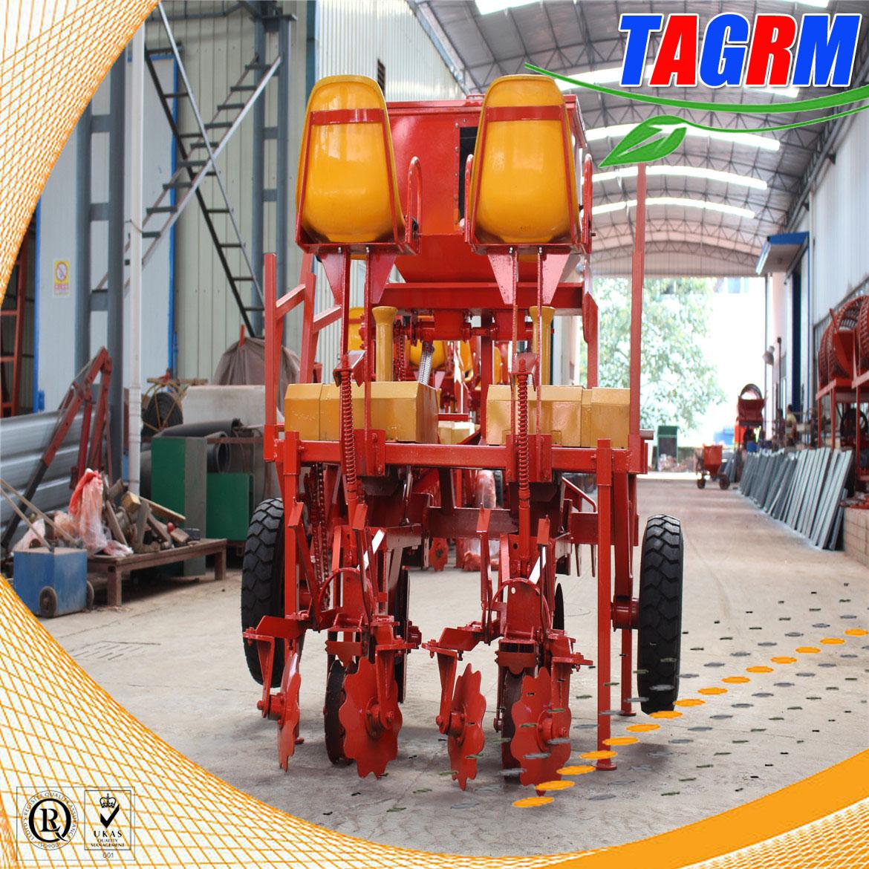 2AMSU cassava seed planter/2 row flat type cassava planting machine