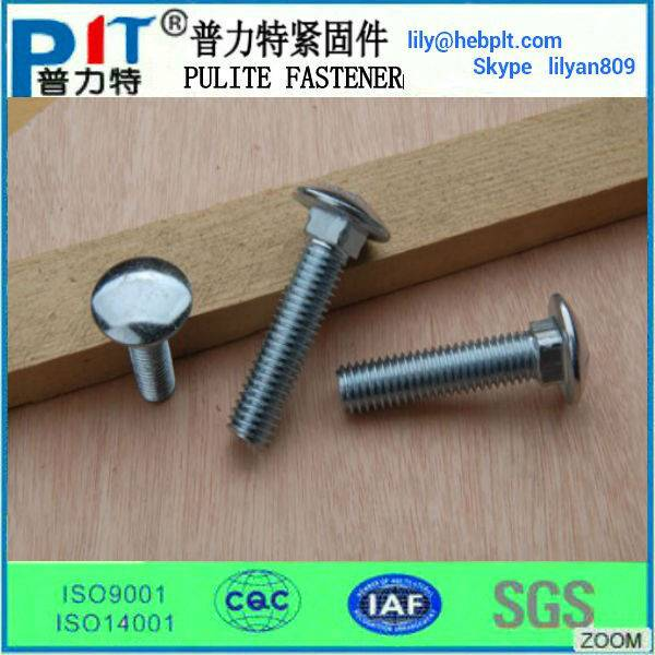 high strength of carriage bolt