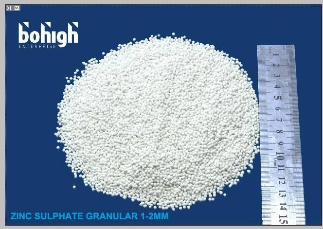 zinc sulphate monohydrate granule 33%