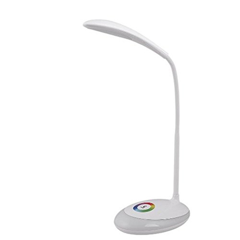 CE RoHS Modern Table Lamp Desk Lamp Night light 3W LED 3-Level dimmer switch, with RGB,Li-on Battery