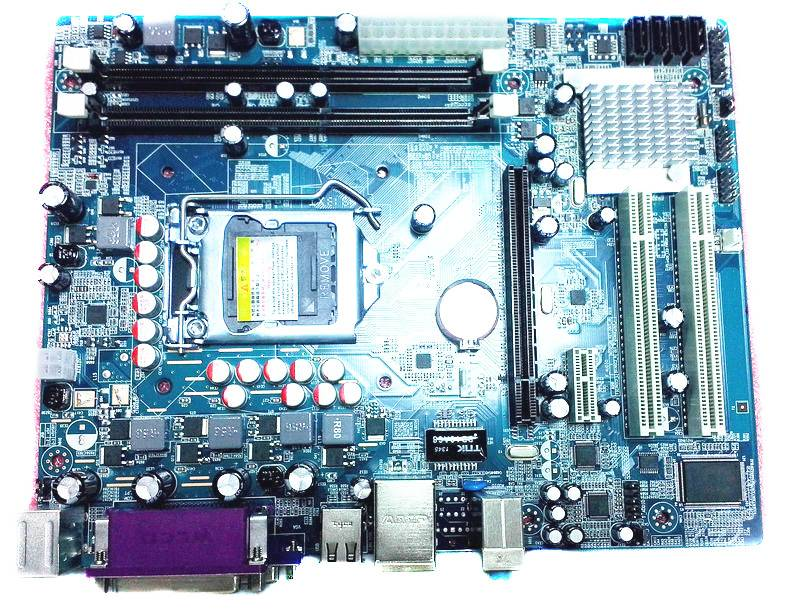 H55 motherboard LGA1156 support i3/i5/i7 CPU