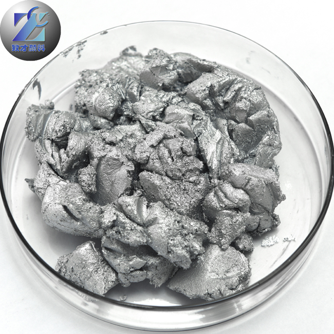 Sparkling metallic pigment aluminum silver paste for refinish coating and oil coating