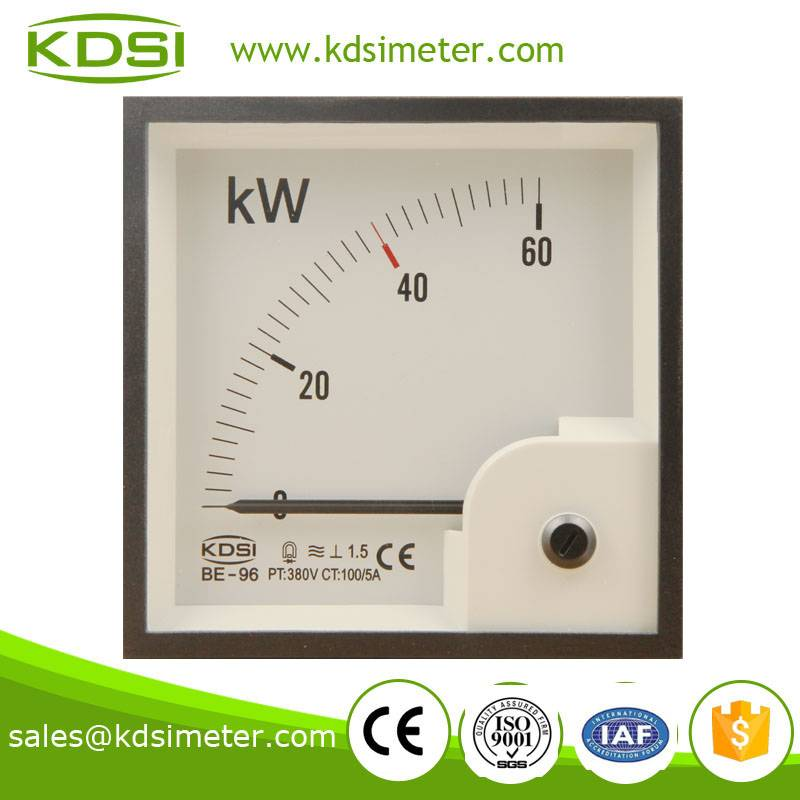 KDSI electronic apparatus BE-96 60KW 100/5A 380V  3 phase energy meter