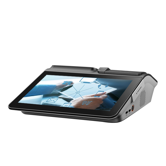 11.6 inch touch screen pos terminal android OS pos machine with printer
