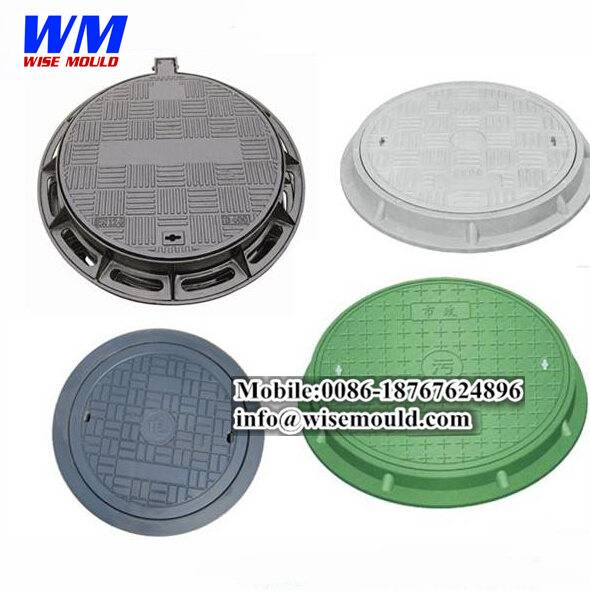 High quality-SMC compression manhole cover mould/concrete manhole cover mold/SMC tool mold injection
