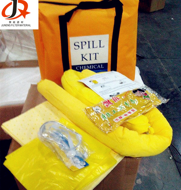 Hot Sell Oil Only Absorbent Pads/Mats/Kits Non-Woven Fabric Emergency Materials