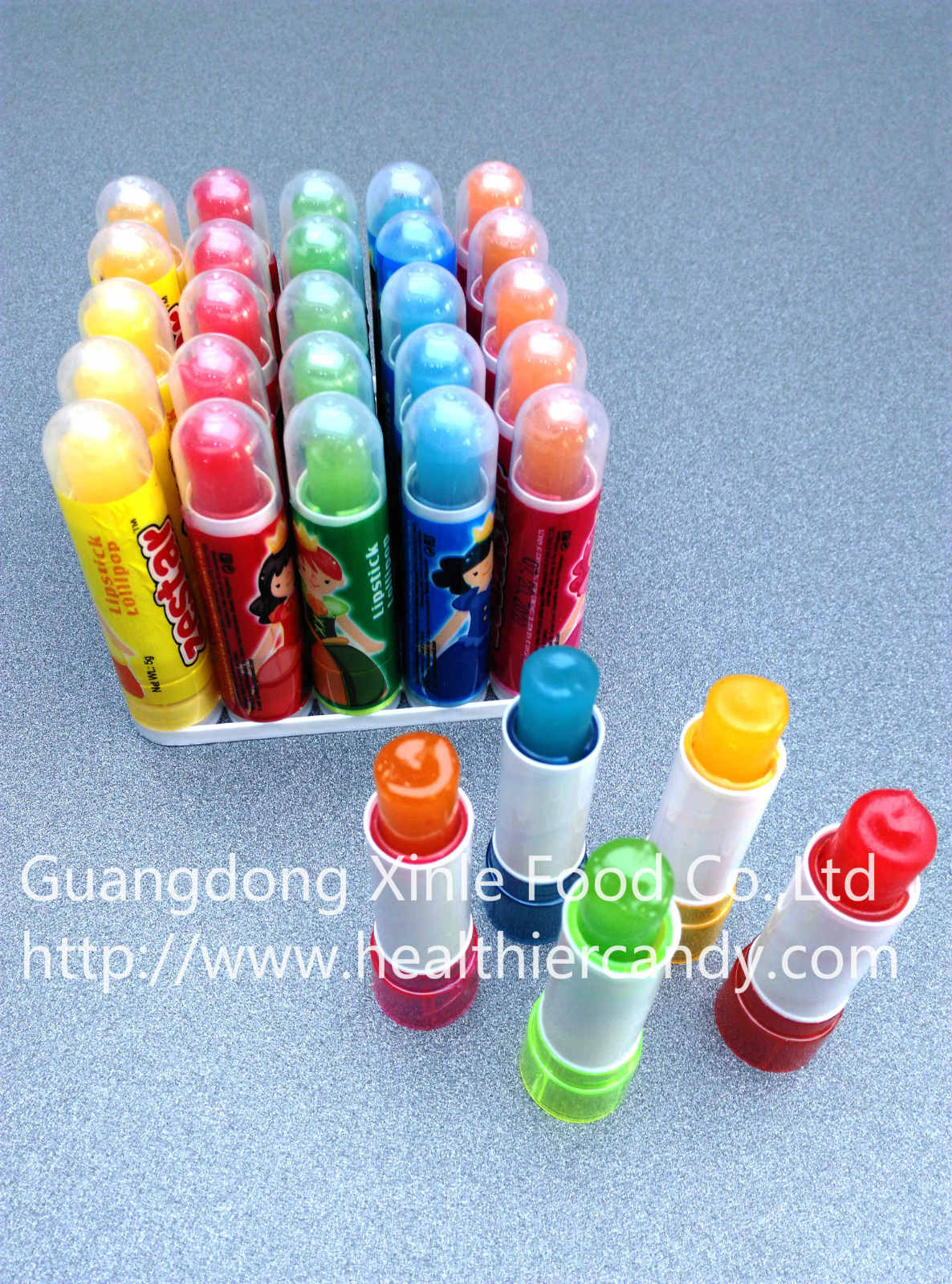 Hot Sale Lipstick Candy, Funny and Lovely shape, Fashionable Sweet Candy