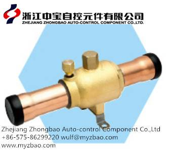 Ball valve for split air-conditioner