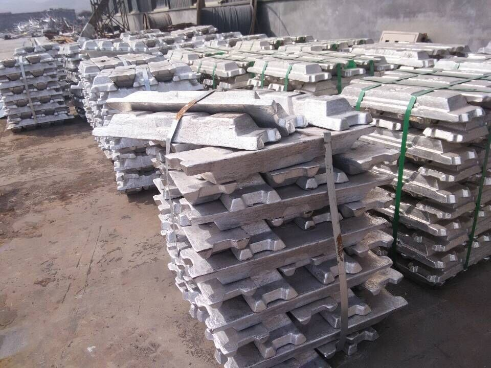 Hot Sale Zinc Ingot 99.995 with Bottom Factory Price