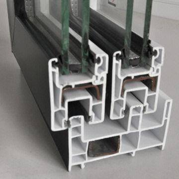 uPVC profile for making frame of door and window - best price from Vietnam manufacturer