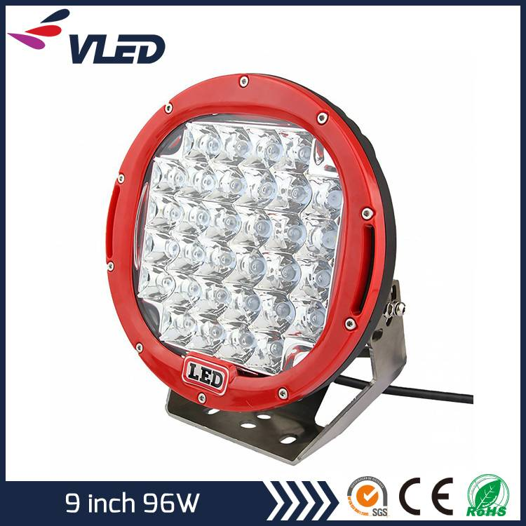 Offroad 4WD Round 96W LED Work Light Auto Parts
