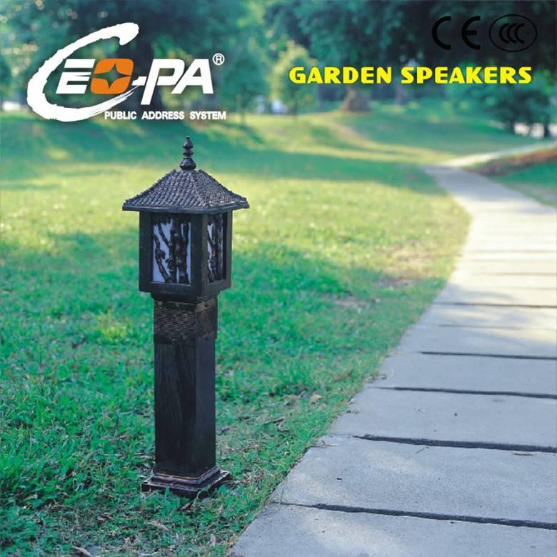 PA System Lamp Shape Garden Speaker