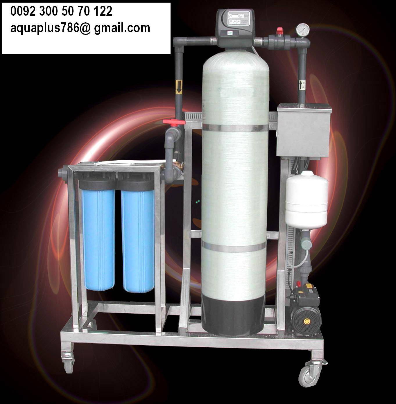 Whole House Water Filtration Plant 03355070122