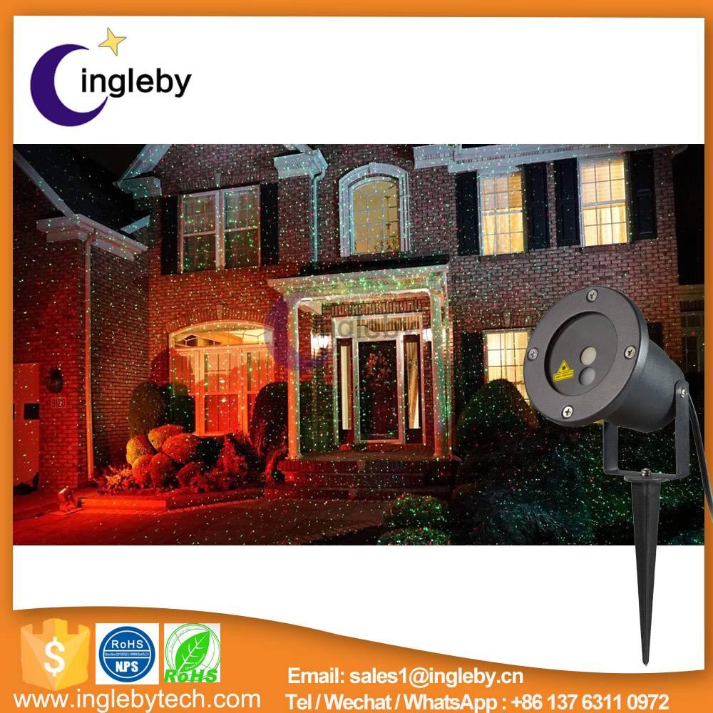 Wholesale IP65 waterproof garden decoration elf light Christmas lights outdoor laser lights