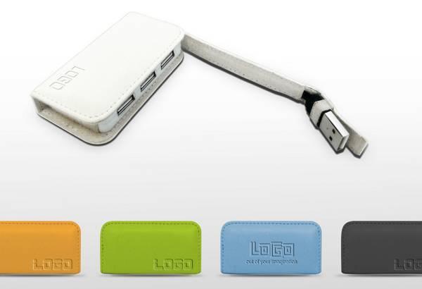 Leather USB HUB