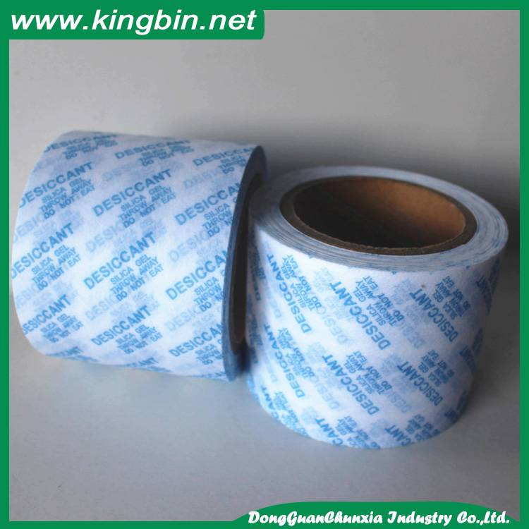 cutom printing silica gel packing cotton paper