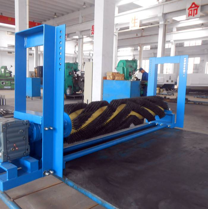 Electric Brush Cleaner Applicated for Belt Conveyor