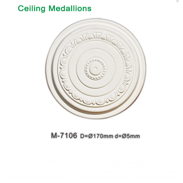 Factory price easy install ceiling medallions ceiling rosettes