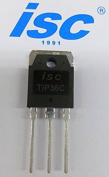 ISC sillicon PNP power transistor TIP36C