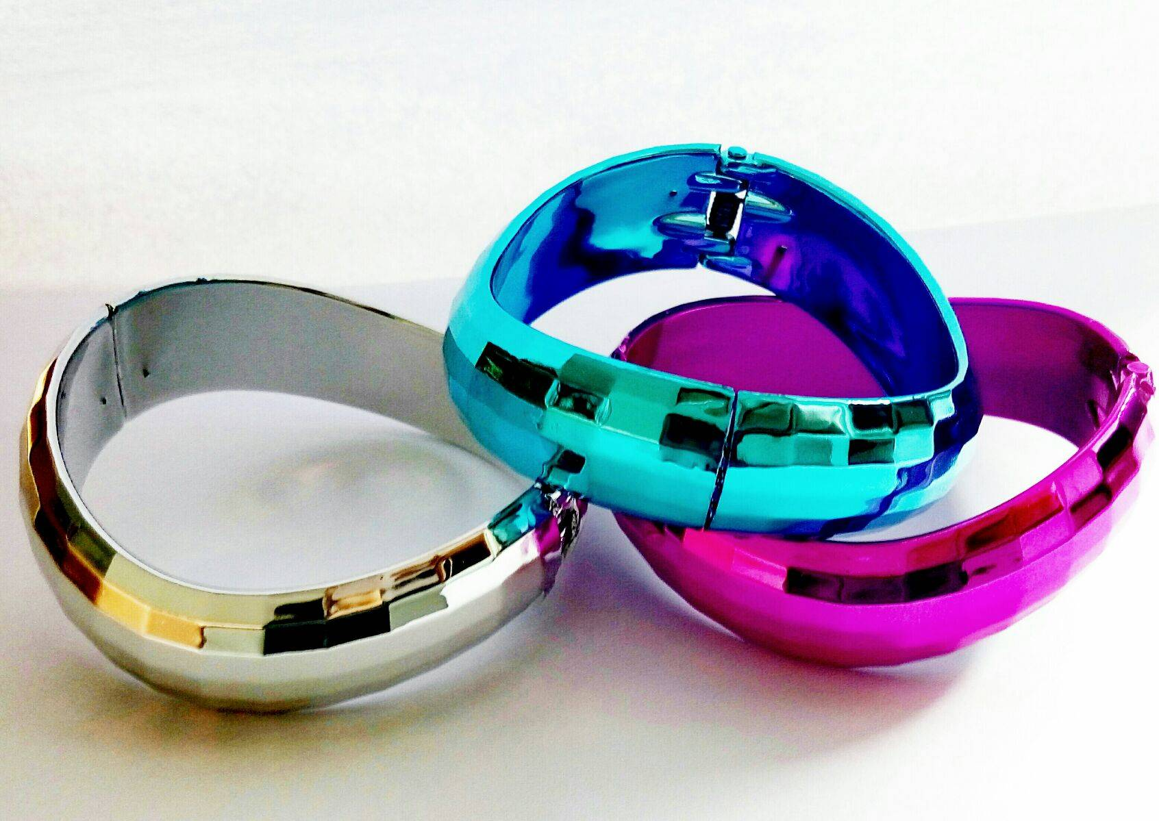 Disco Party shiny  fashion bangles accessory