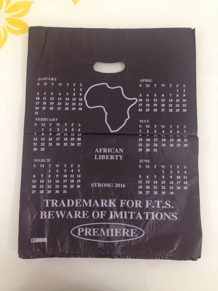 Africa die cut plastic bag manufacturer singlet bag