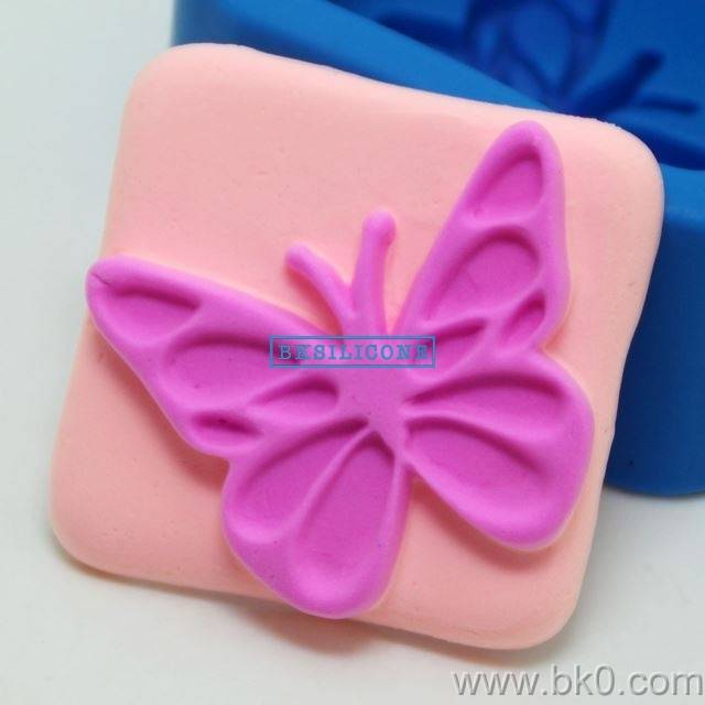 High Quality Butterfly  Silicone Soap Mold Fondant Cake Decorating Tools Silicone Cake Molds AA009