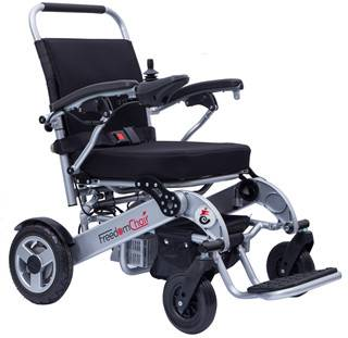 Lightweight portable electric power wheelchair
