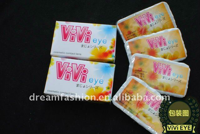 2011 style design color magic eye contact lens