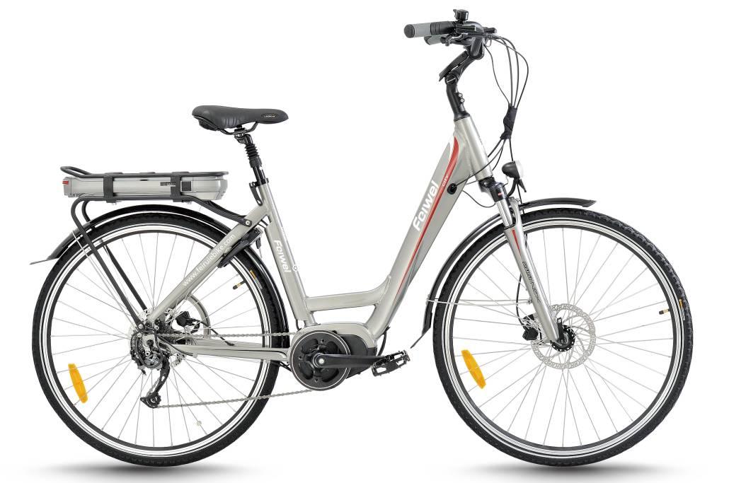 Mid-drive motor city electric bike (FR-TDB12Z)