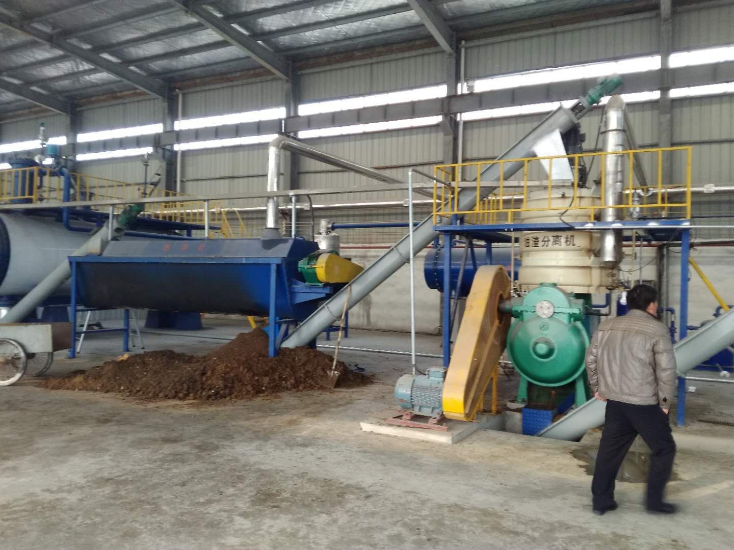 Epuipment for production of animal fats, meat and bone meal, plant oil, biodiesel