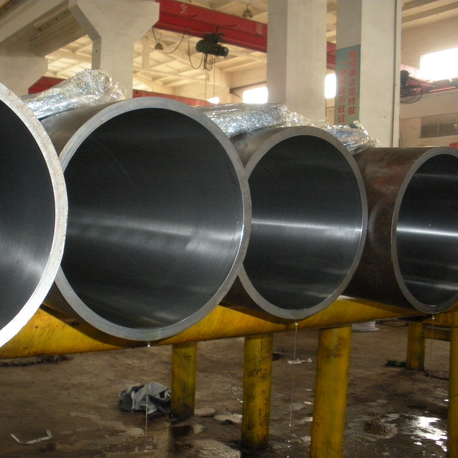 Cold drawn and honed hydraulic cylinder tube