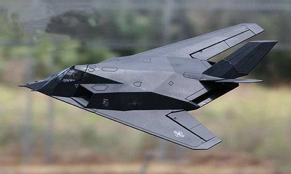 aircraft F117(70mm) RTF