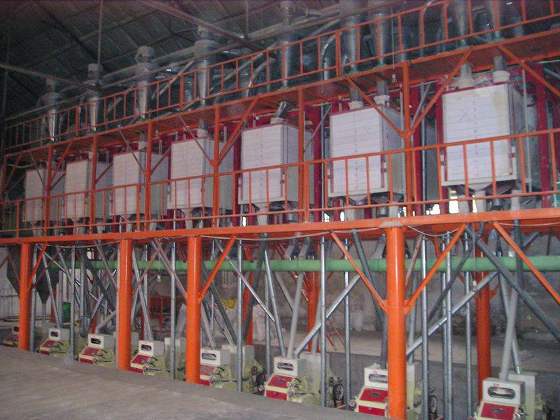 80mt per day wheat flour production line