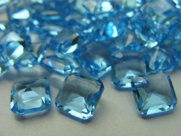 High Quality Cubic Zirconia with Multi cuttings