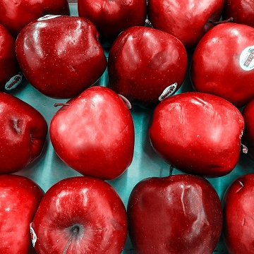 Fresh Apple Top Red Delicious / Fresh Apple For Sale
