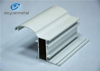 Electrophoresis Aluminium Extrusion Profile , Aluminum Door Frame