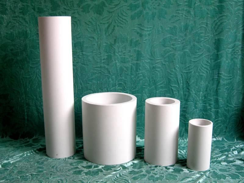 wear resistant 92% alumina ceramic tubes