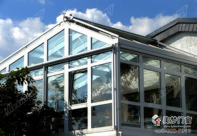 Customized designs aluminum alloy glass sun rooms