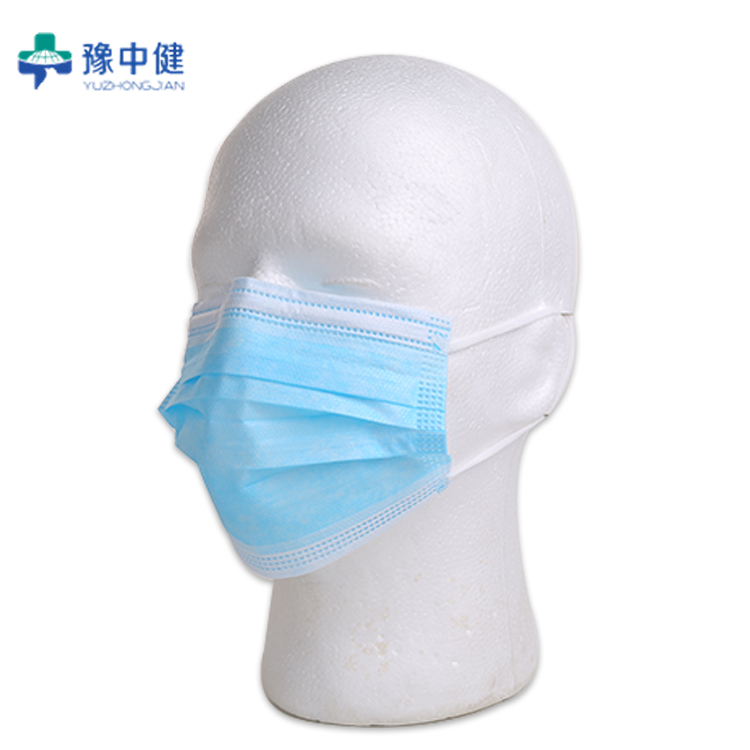 Disposable medical face mask with CE TUV test report EN1463 YY0969-2013