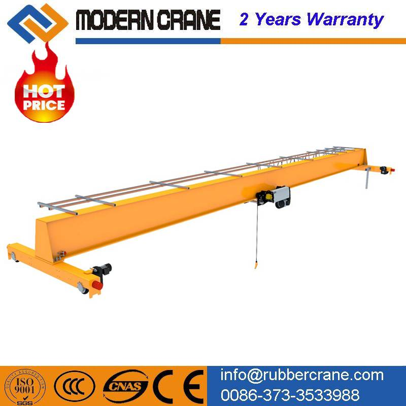 TOP quality 5 ton overhead crane for sale ,single gider bridge crane