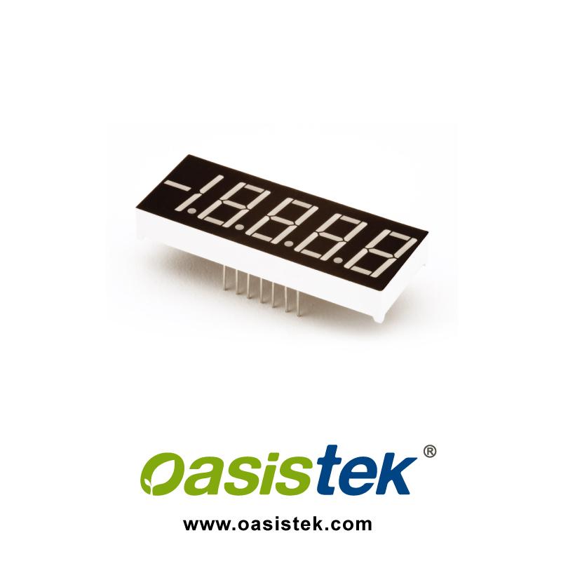 LED display, 7 segment Display, Digital Signage, TOF-5521