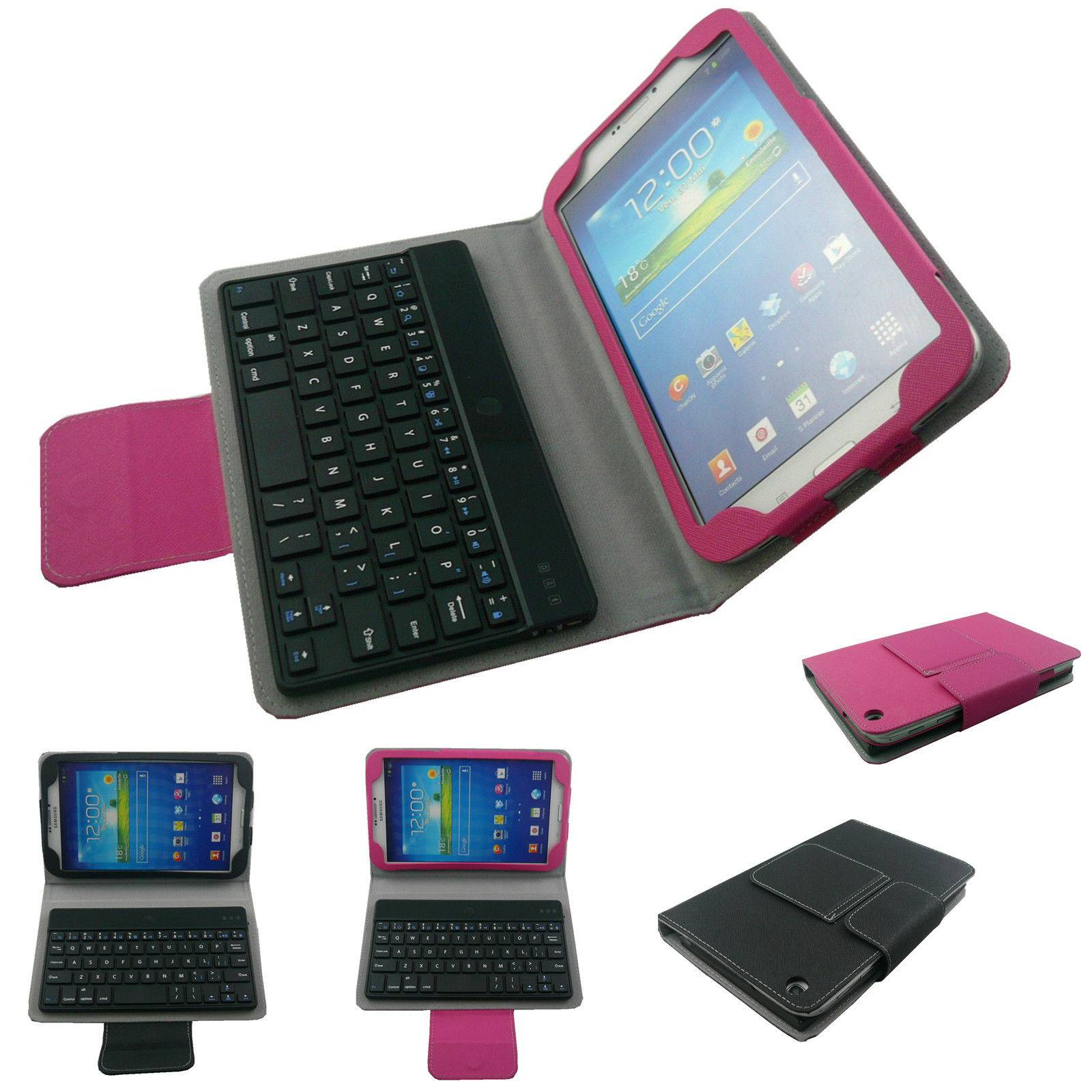 For Samsung Galaxy Tab3 8.0 T310/T311 8Inch Stand Leather Case Bluetooth keyboard Cover
