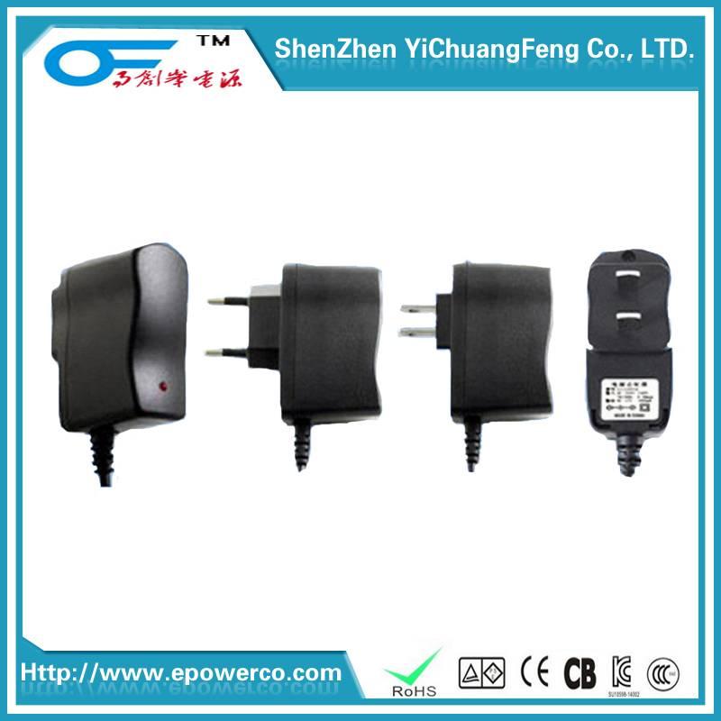 Power Supply 19V2A/19V1.8A/12V2A/36V1A UL/CE/FCC/SAA/KC/GS certified Power Adapter & Interchangeable