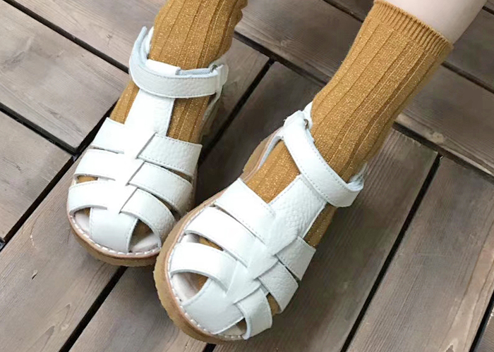 Summer Closed Toe Kids Shoes Sandals for Boys Girls EURO 23-30