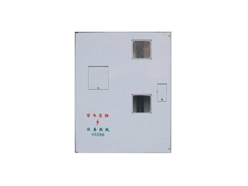 660 X 840 X 200mm bmc 2 phase energy meter box for construction